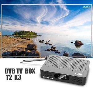 Image 2 - HD デジタル地上波テレビ受信 DVB T2 K3 MPEG 4 サポート youtube MEGOGO PVR DVB TV ボックスフル HD 1080 1080p メディアプレーヤー