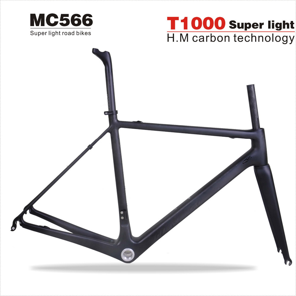 free shipping chinese carbon bike frame roadt1000 carbon road bike frame mc566cadre bicicleta carbon