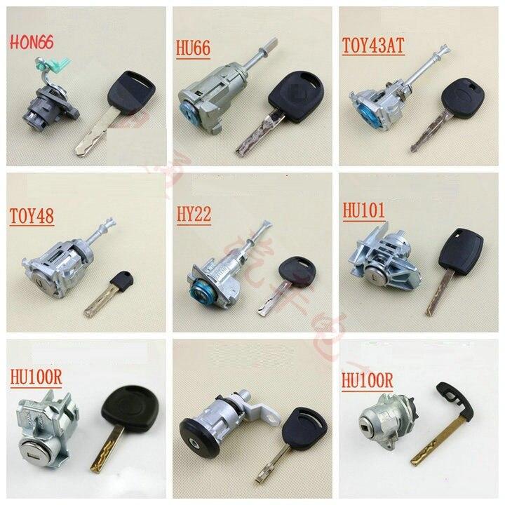 Locksmith Supplies Anti-theft Car Door Lock Practice Car Door Lock For Volkswagen Toyota Hyundai Benz BMW Practice Lock Tools