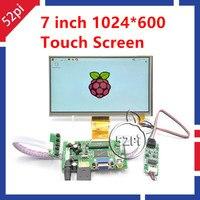 7 Inch TFT LCD Module Monitor Touch Screen Driver Board HDMI VGA 2A For Raspberry Pi