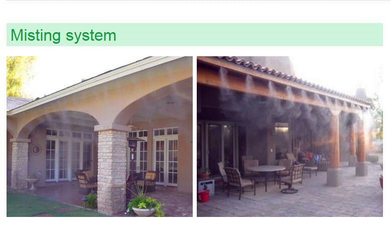 US $350 0  Fog nozzle cooling greenhouse mist cooling system,Misting System  Pump for humidification-in Sprayers from Home & Garden on Aliexpress com  