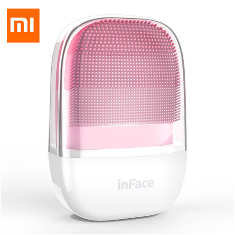 Xiaomi InFace MS-2000 Adjustable Waterproof Electric Sonic Silicone Facial Cleansing Brush skin care tool From Xiaomi Youpin
