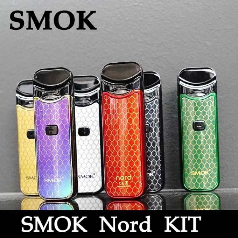 Vape SMOK Nord Kit 1100mAh Battery 3ml Capacity Pod All in one Nord Starter  E cigarette Vape VS SMOK NOVO minifit infinix KIT