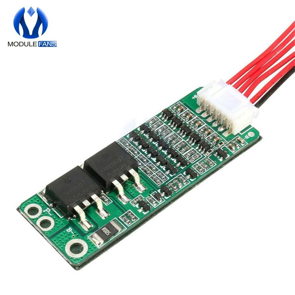 US 6S 22V 18650 Li-ion Lithium Battery Protection PCB Board Input Ouput 15A SU
