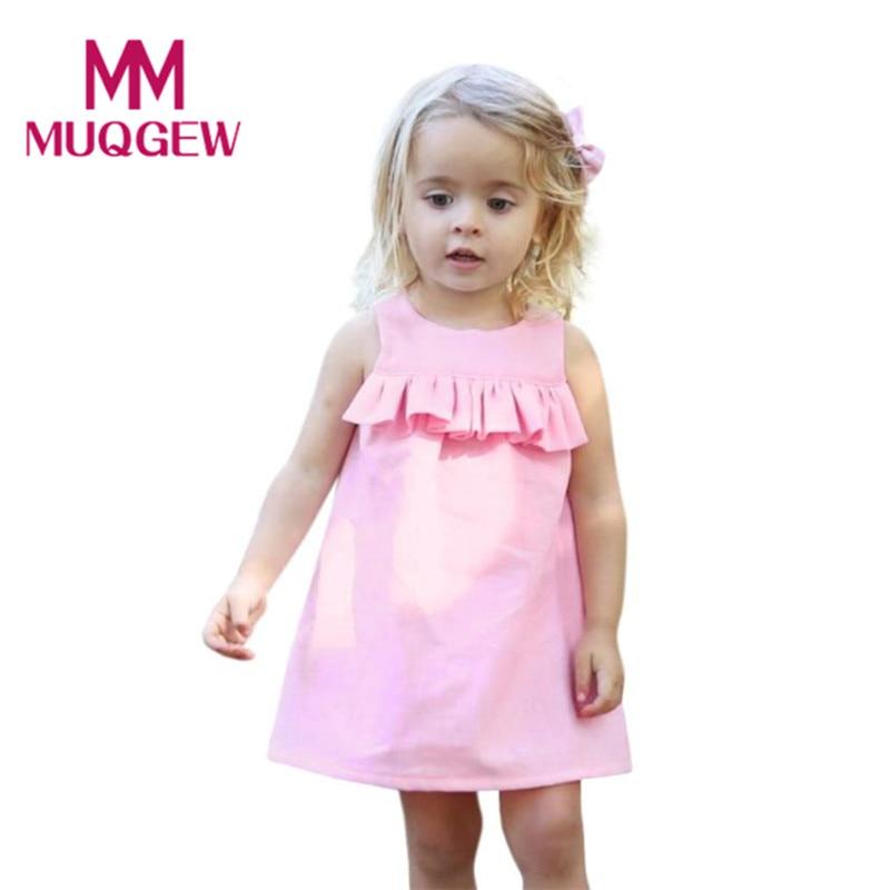 MUQGEW first communion dresses for girls with sleeves pudcoco girls summer sukienki dla dziewczynek d ugi r kaw robe fille #4-5