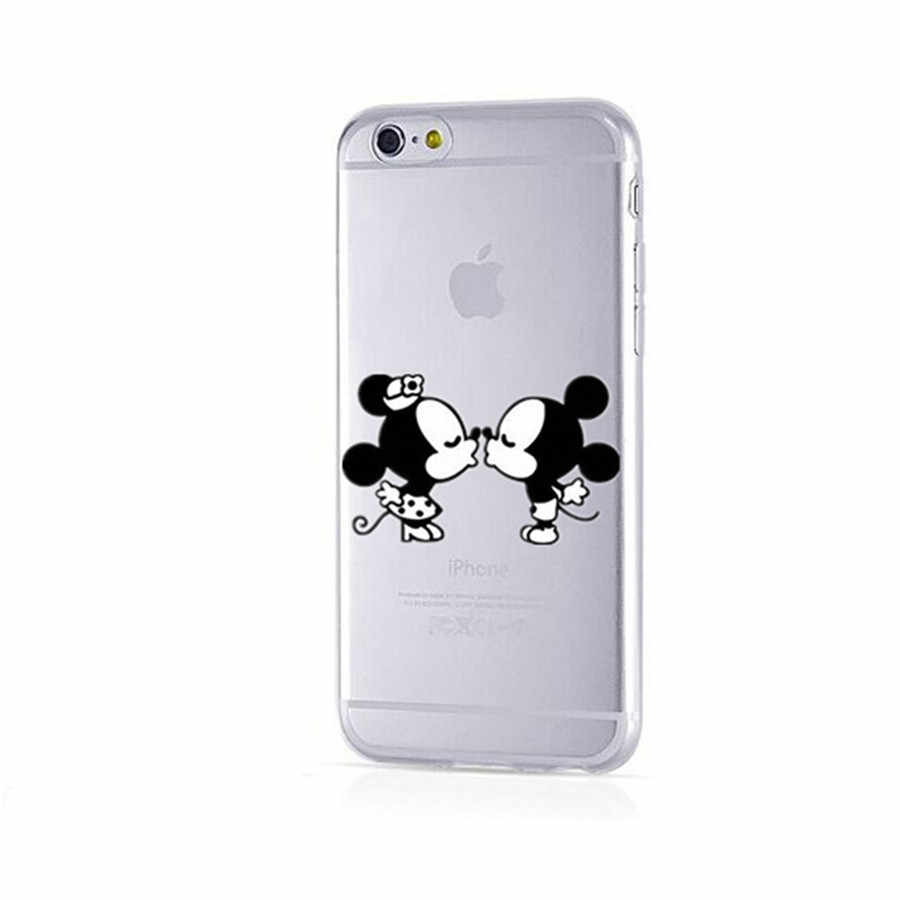 Cartoon Case Voor iPhone 8 7 iPhone6 Case Sexy Silicon Cover Voor iPhone 7 6 s 5 s X XS case Fundas