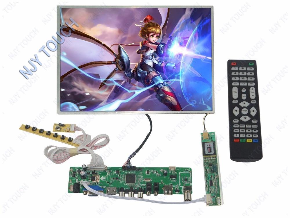 HDMI USB AV VGA TV Controller Kit Plus 12.1inch N121X5 1024x768 LCD Screen Panel kit