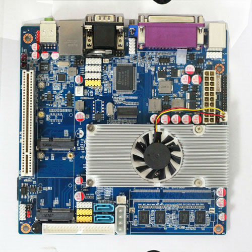 все цены на  Industrial Fanless PC firewall motherboard Desktop Mainboard Support Intel Atom D525 CPU  онлайн