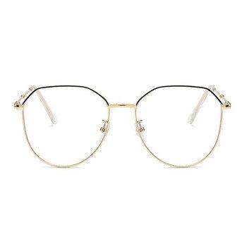 Metal Irregular Polygon Myopia Eyeglasses Women Men Prescription Spectacles Eyewear -0.5 -0.75 -1 -1.25 -1.5 -2 -2.5 -3 -3.5 -4