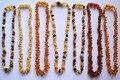 Сертифицированный натурального балтийского янтаря ребенка при прорезывании зубов ожерелье для младенцев ребенок, смешанный цвет ребенка жевать ожерелье, слюни и Боль При Прорезывании Зубов