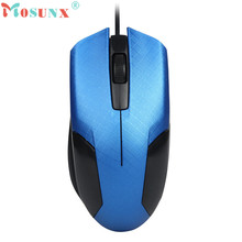 Mosunx Advanced 2017 Mini 1600DPI Optical USB LED Wired Gaming Mouse Mice For PC Laptop Scroll Wheel Mice 1PC