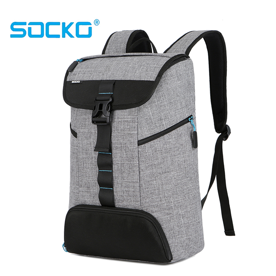 Anti-theft New 17 17.3 Inch Laptop Backpack 15 15.6 Notebook bag For Sony HP Dell Super Light  Top Side opening style knapsack Pakistan