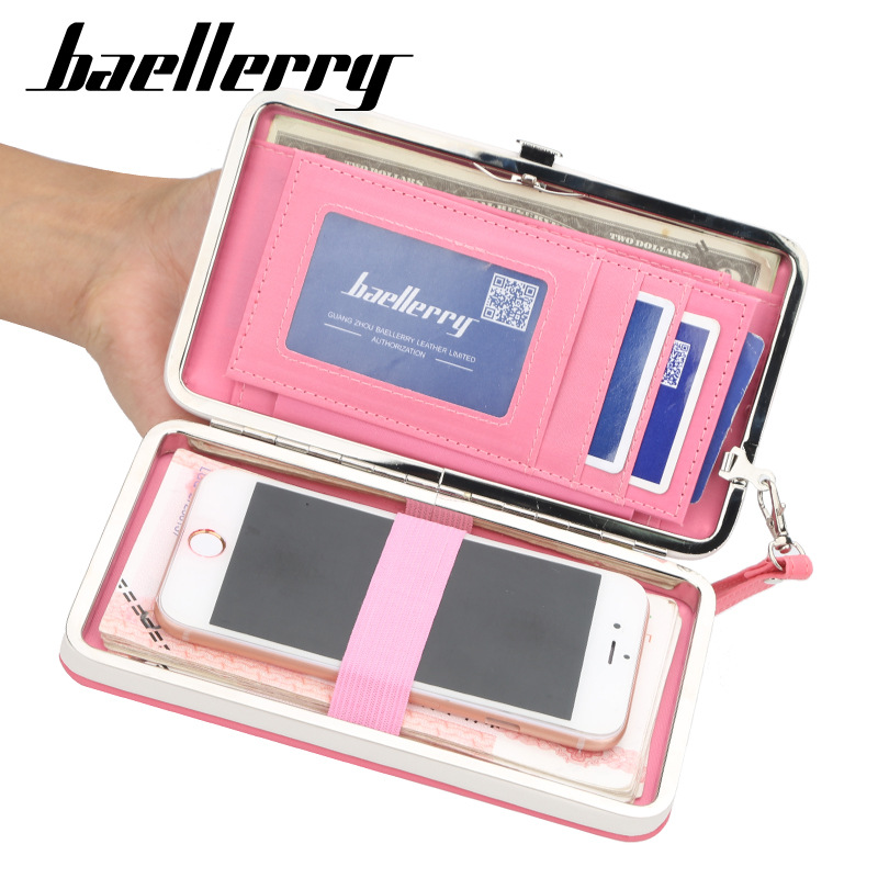 High Quality Wallet Women Purse Long Female Clutch Bag Hasp Coin Purses Phone Card Holder Women's Wallets WWS260-2