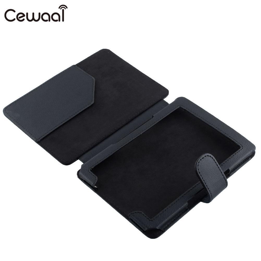 PU Leather Skin Case Flip Thin Protective Cover For Amazon Kindle 4/5 eBook 12 colours shimmer matte eyeshadow palette