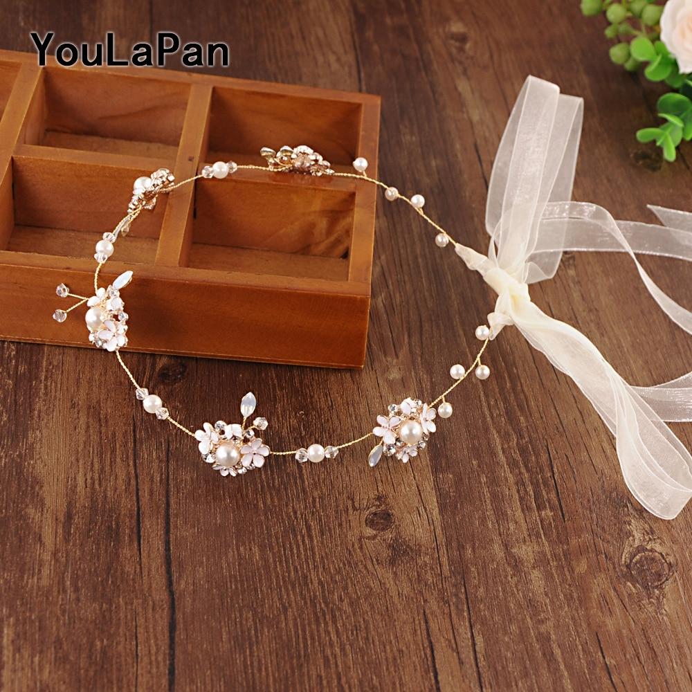 YouLaPan SH131 Wedding Sash belt Bridal flower belts Wedding Accessories Thin Belts Women Belt rinstone belts for dresses in Bridal Blets from Weddings Events