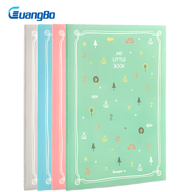 GUANGBO 25K notebook Grid Paper Lined Dotted Diary Blank Kawaii