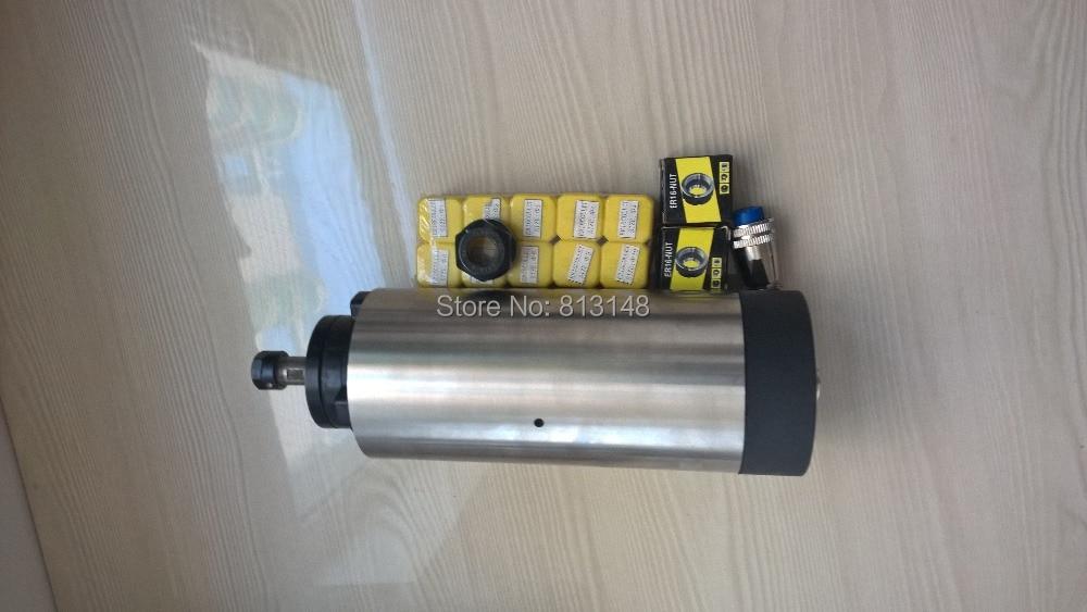 CNC orsókészlet, 1.5KW, ER16 léghűtéses orsómotor + 10 db ER16 - Szerszámgépek és tartozékok - Fénykép 3