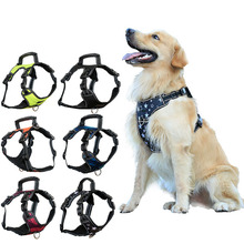 Adjustable Pet Dog Harness Nylon K9 Vest for Small Medium Large Dogs Animals Walking Hand Strap Leads Accessories PP030