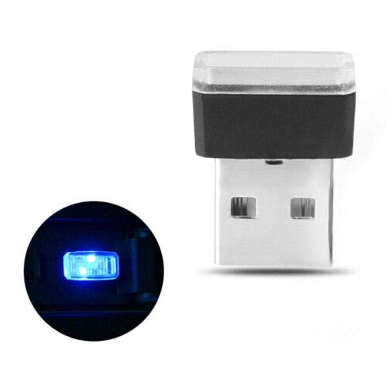 سيارة التصميم USB جو LED ضوء المصباح لأودي A1 A2 A3 A4 A5 A6 A7 A8 Q2 Q3 Q5 Q7 S3 S4 S5 S6 S7 S8 TT TTS RS3 RS4 RS5 RS6