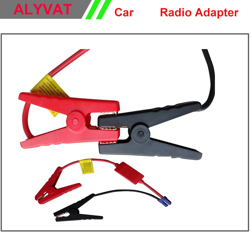 Car jump <font><b>starter</b></font> connection kit Clips Cables emergency ignition battery power charger clip clamp lighter cable For jump <font><b>starter</b></font>