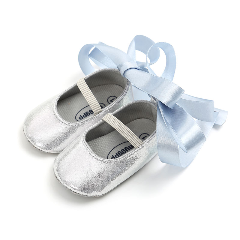 WONBO 2020 New Baby Girls First Walkers Fashion Bling Baby Ballet Shoes Princess Shoes Hot