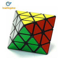 LeadingStar LanLan Magic cube Octahedron Face Turning Plastic Speed Puzzle Intelligence Brain Teaser Twisty Puzzle cubo magico