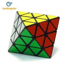 LeadingStar Magic speed cube Octahedron Face Turning Plastic Speed Puzzle Intelligence Brain Teaser Twisty Puzzle cubo