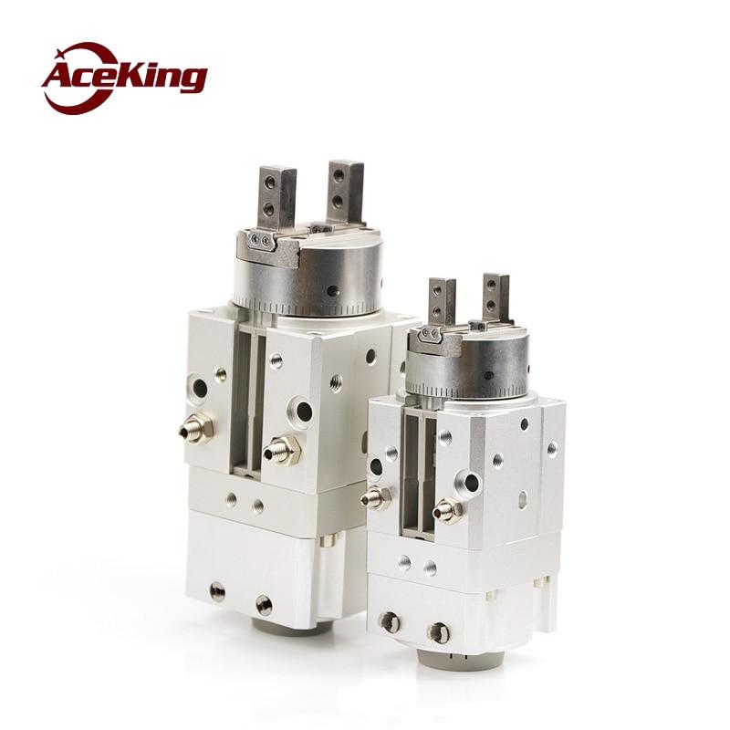 SMC tipo MRHQ mrhq10d-90s balançando a rotação do dedo garra ar MRHQ16D 20D 25d-180s-n-m9n rotativa cilindro de fixação dedo