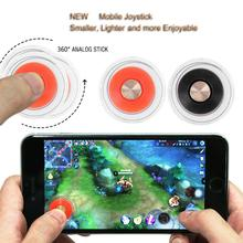 1Pc Red Mini Game Joystick Joypad Mini Rocker Touch Screen Stick Mobile Game Joystick Controller with Box Packages High Quality цены