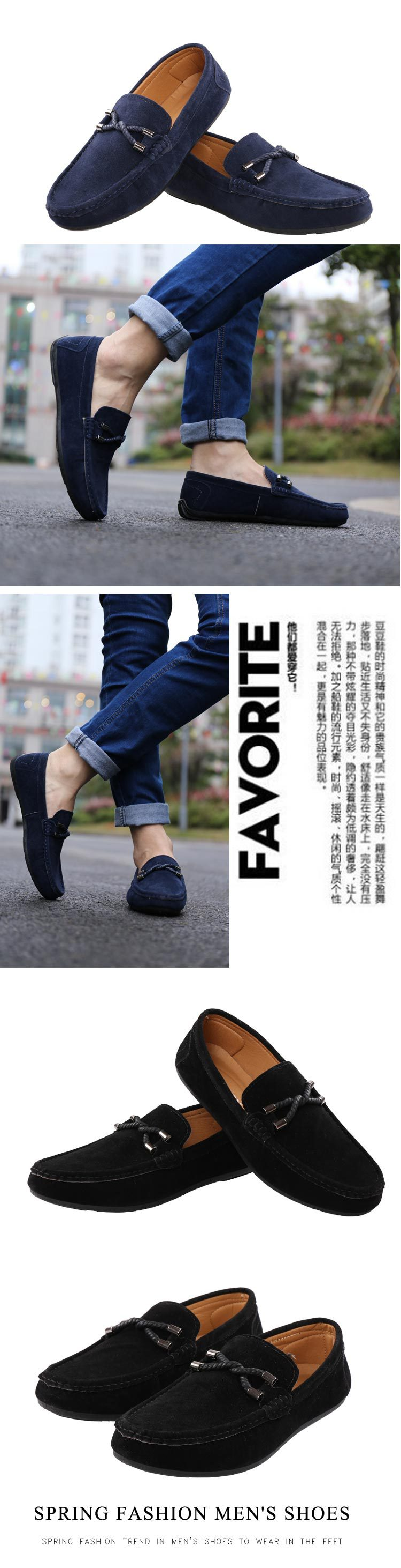HTB109moUwHqK1RjSZFPq6AwapXaU UPUPER Spring Summer NEW Men's Loafers Comfortable Flat Casual Shoes Men Breathable Slip-On Soft Leather Driving Shoes Moccasins