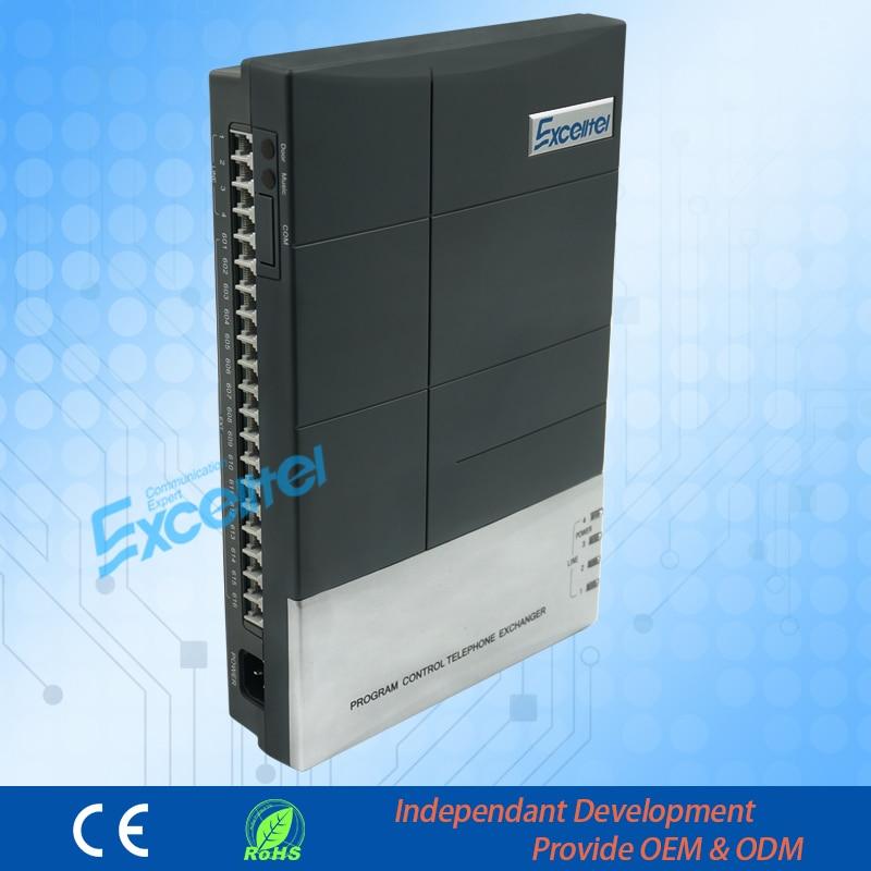 PABX/Mini PABX/CS + 416/4 ligne PSTN 16 extension/avec Identification de l'appelant-Fonctionnement facilement