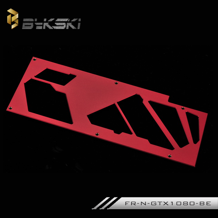 все цены на Bykski FR-N-GTX1080-BE Water-cooled block backplane for NVIDIA Founder version GTX1080TI 1070 1080  Pascal TITAN X онлайн