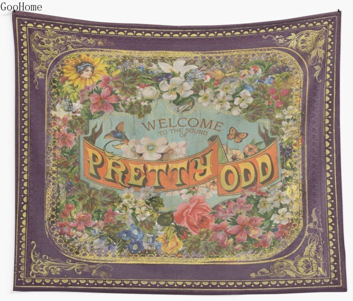 The Sound Of Pretty Odd Wall Tapestry Cover Beach Towel Throw Blanket Picnic Yoga Mat Home Decoration