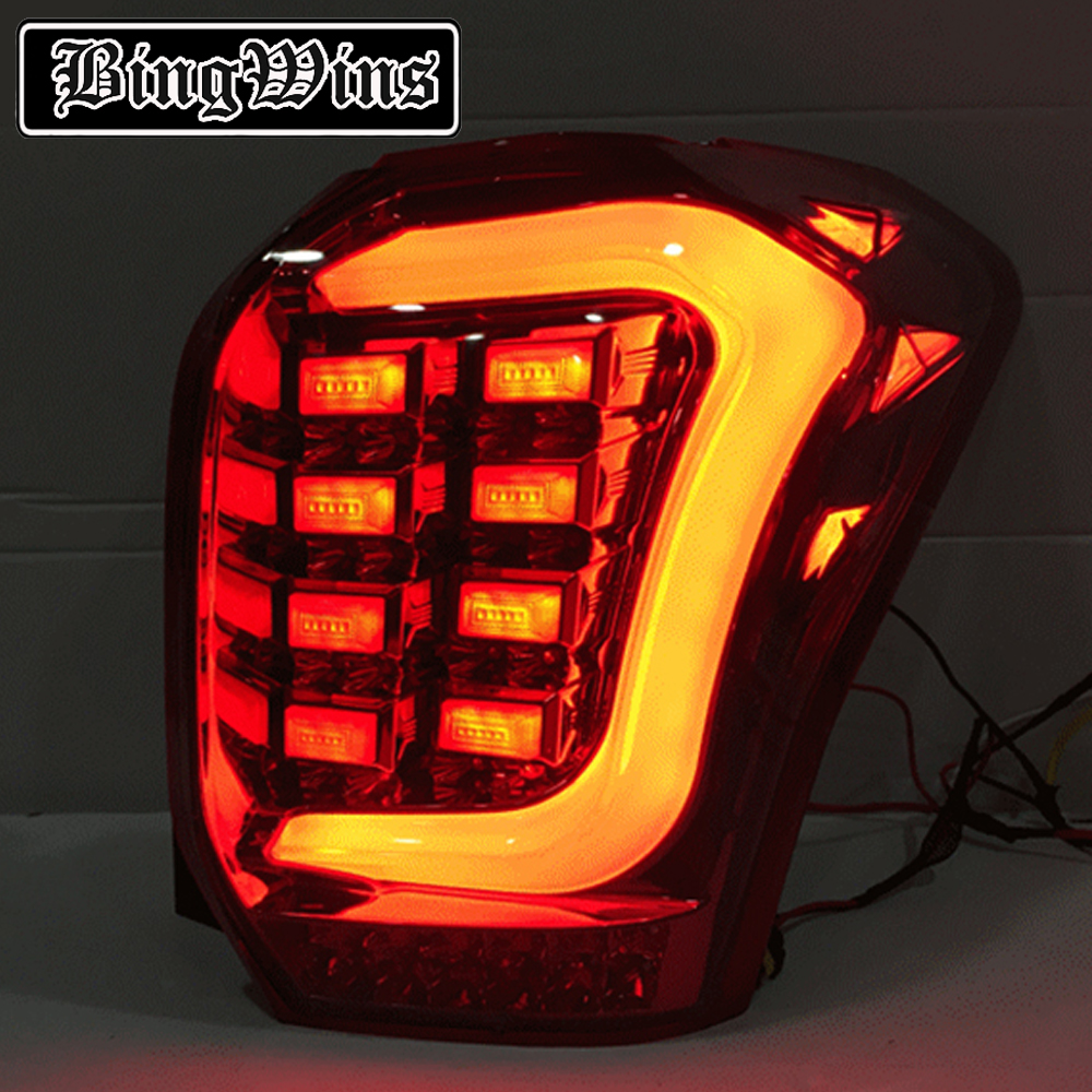 Car Styling Tail Lamp For Subaru Forester 2013 2014 2015 Taillights Full LED Tail Light Rear