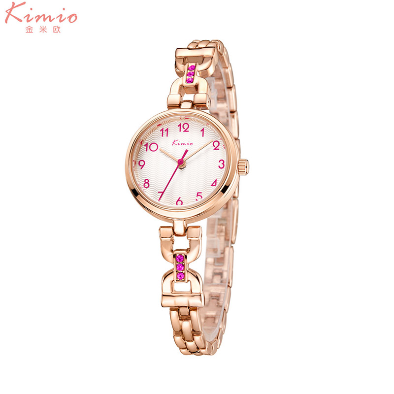 KIMIO Women Watch 2018 Fashion Casual Dress Ladies Bracelet Quartz Wristwatch Simple Small Dial Female Clock relogio feminino kimio new fashion leather strap women quartz casual bracelet watch clock female ladies girl dress wristwatch relogio and box