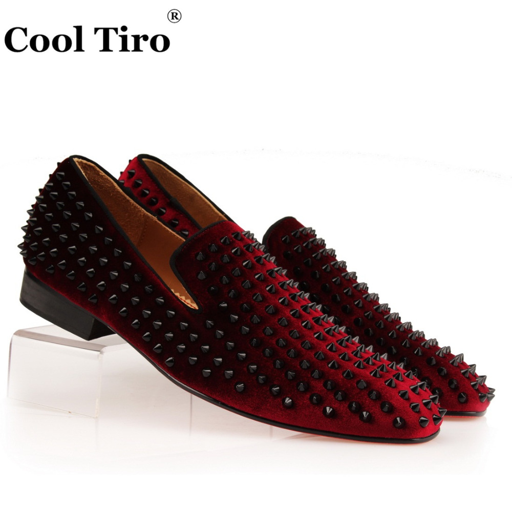 Wine Color Shoes For Men