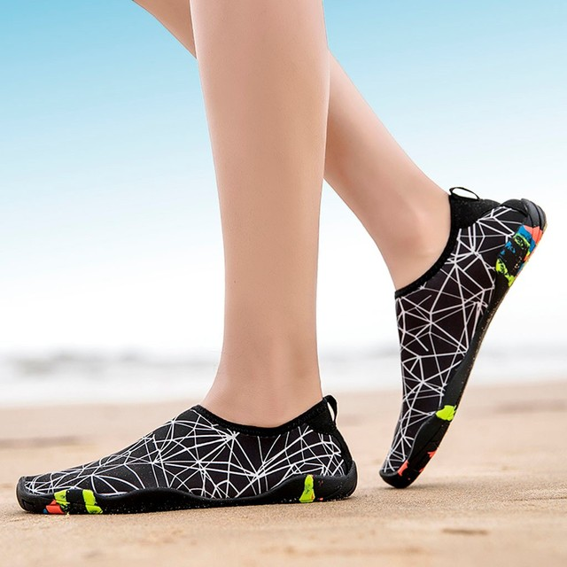 KLV  Couple Beach Shoes Swimming Water Shoes sport outdoor Barefoot Quick Dry Aqua Quick-drying Wading Swimming Shoes 3