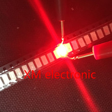 200 шт. 5630/5730 SMD/SMT красный SMD 5730 светодиодный поверхностный монтаж Красный 2,0~ 2,6 в 620-625nm ультра Birght светодиодный Диод чип 5730 красный