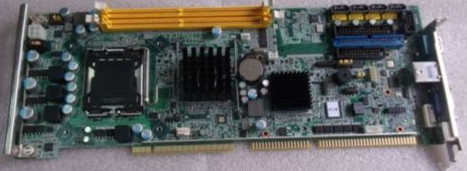 Original IPC Board For PCA-6010VG ( PCA-6010 ) Full-size CPU Card ISA Industrial Mainboard