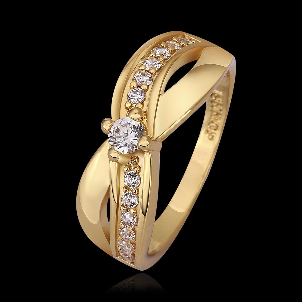 free shipping 18k/rose gold infinity ring endless love wedding rings
