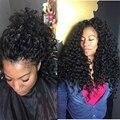 Самые курчавые вьющиеся 10A высокое качество человеческих волос парики glueless полный шнурок Бразильского виргинские человеческих волос парик фронта шнурка вьющиеся парики