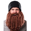 Personality Creative Cosplay Viking Beard Cap Modeling Knit Hat Warm Winter Hat Men Women Halloween Gift Funny Party Mask Beanie