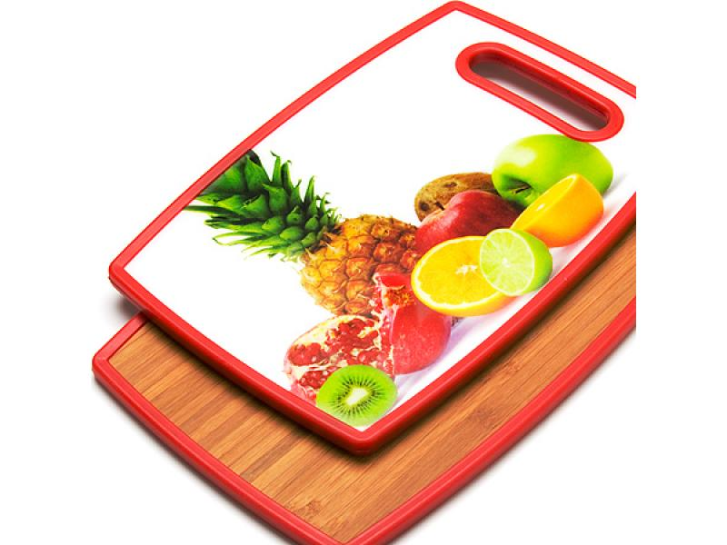Board cutting MAYER & BOCH, FRUIT, 30*20 cm, double side a4 self healing cutting mat pvc double sided engraving board 3mm thickness