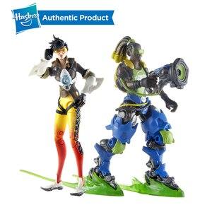 Image 2 - Hasbro Overwatch Ultimates Tracer Sombra Lucio Blackwatch Reyes 6 Cal kolekcjonerskie figurki gorąca sprzedaż popularna na rynku
