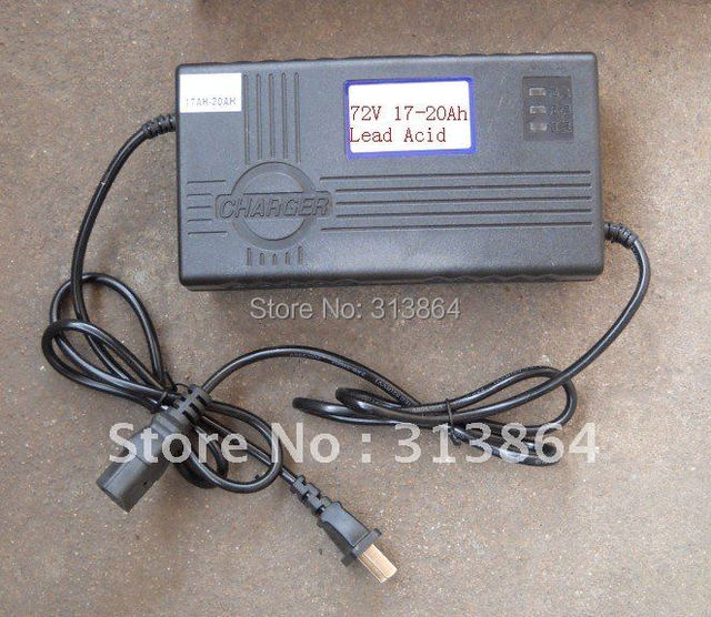 180-240VAC 72VDC 17-20Ah 2.5A Lead Acid Battery Charger/EV charger/E-scooter charger
