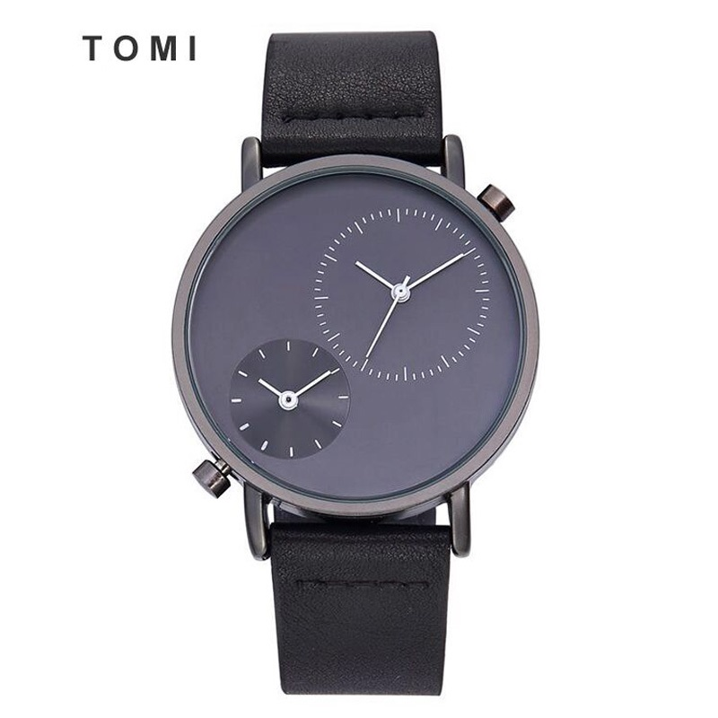 Tomi Men's Watches 2017 New Hot Brand Watch Fashion Leisure Women Quartz Watch Men Luxury Leather Strap Wristwatch Relogio Gift new listing yazole men watch luxury brand watches quartz clock fashion leather belts watch cheap sports wristwatch relogio male