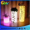 Wholesales Waterproof Outdoor Rechargeable Color Changing Glowing Led Flower Pot Square Led Ice Bucket As Pub