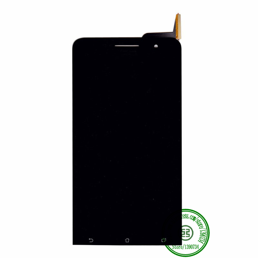 TOP Quality Full LCD Display + Touch Screen Digitizer Assembly For Asus Zenfone 6 A600CG T00G Replacement Black Free shipping