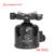 SUNWAYFOTO XB-52DL Low-Profile cabeça do Tripé para a Câmera DSLR Tripode Panorâmica Tripé Bola Cabeça Ballhead Monopé Profissional