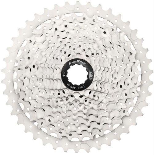 SunRace Bicycle Freewheel 10S 10 Speed Mountain Bicycle Cassette Tool MTB Cycling Flywheel Bike Parts 11-40T 11-42T 10V 2 Color  mtb mountain bike bicycle 10s cassette freewheel 8 speeds flywheel 11 13 15 18 21 24 28 32 36t teeth crankset